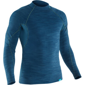 NRS HydroSkin 0.5 T-shirt à manches longues Homme, moroccan blue
